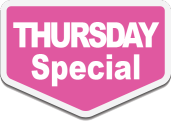 Thursday Promotion at A Plus Nail & Spa - Your Best Nail Salon in Newmarket