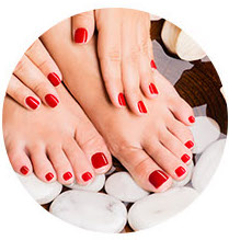 Nails services at A Plus Nail & Spa in Newmarket